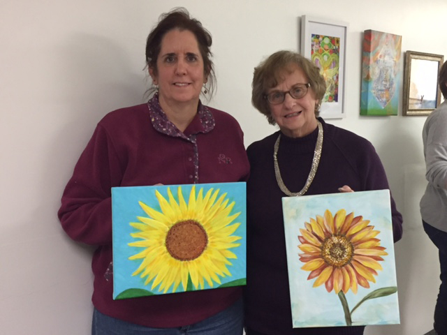 sue and barb with finished paintings class 2.jpg
