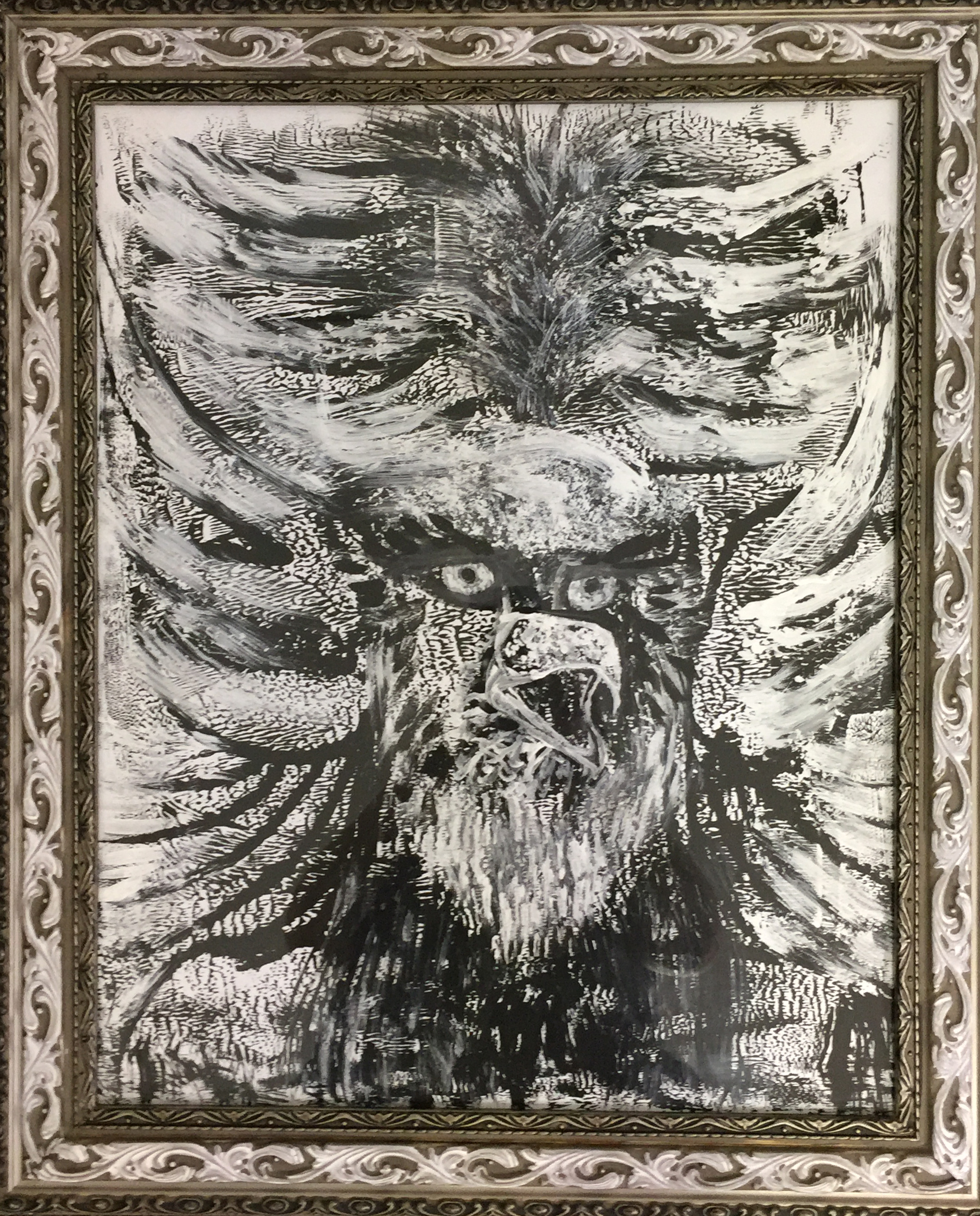 Intuitive Touch Drawing-Eagle Spirit