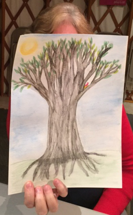 Finished tree karen from church.jpg