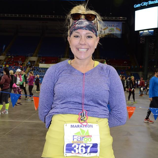 Celeste is an avid runner and crossfitter