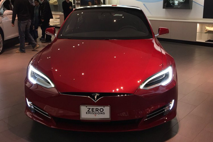 Tesla Showroom Cars - Manager @ The Westchester Mall Tesla (White Plains)