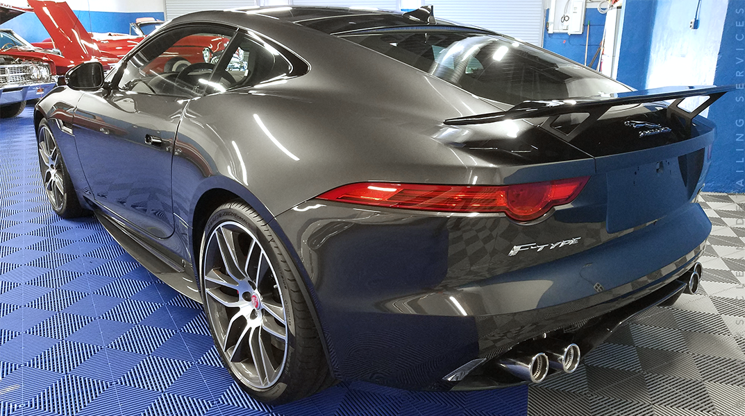 Jaguar F-Type - Serviced November 2016Text received March 2019