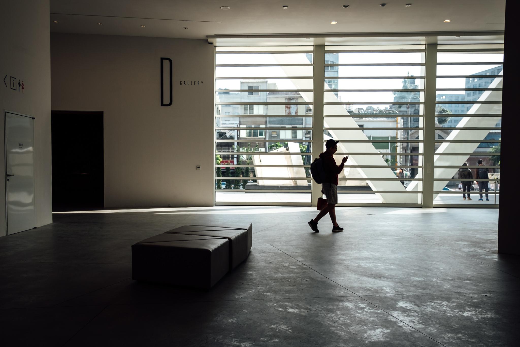 臺南市美術館2館 – Inside of a newly built Tainan City Art Museum Building 2