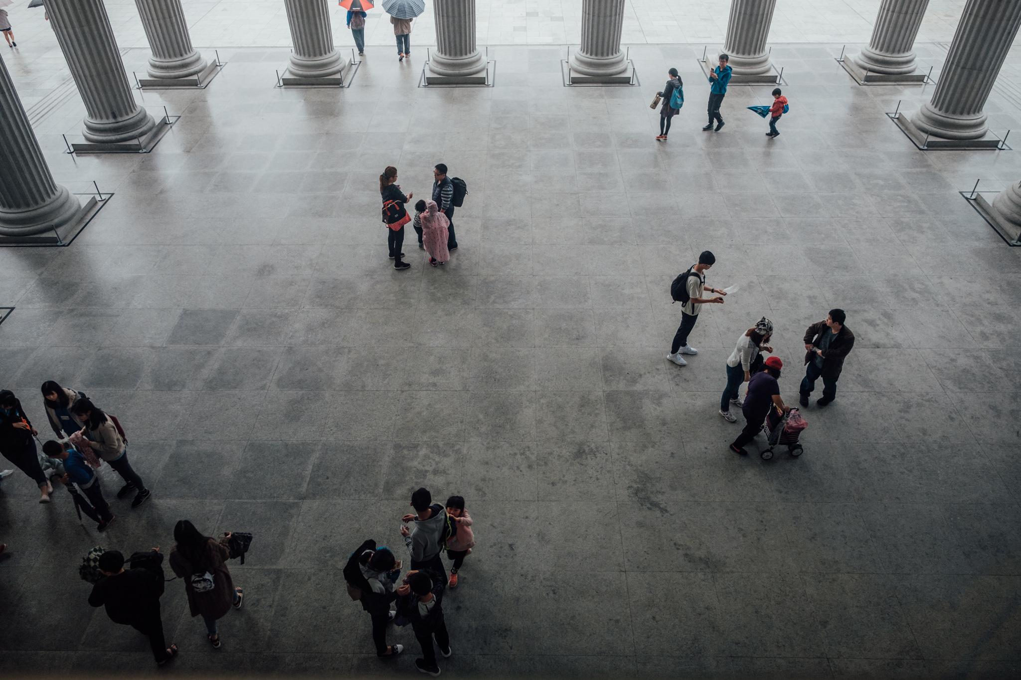 奇美博物館 – Outside of the lobby of Chimei Museum