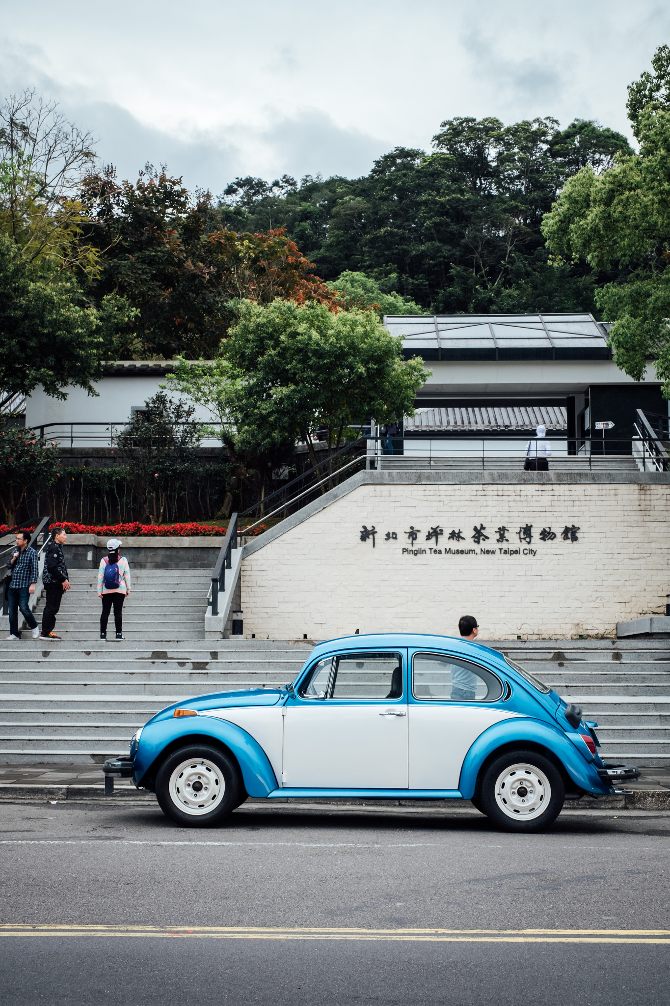 - I did not see very many vintage cars while I was in Taiwan. This was one of the few.