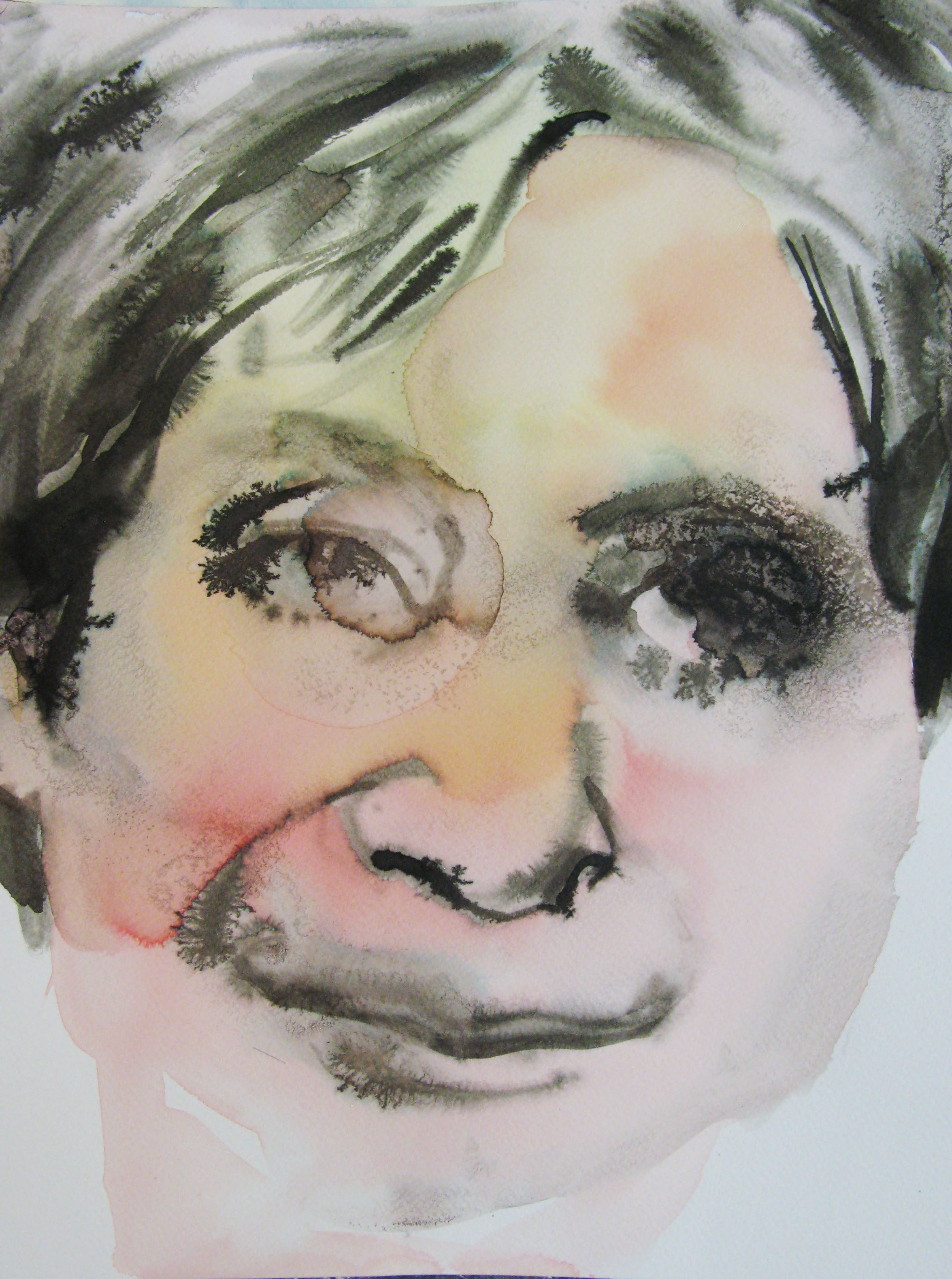 Zdenka 2,  42x29.7cm  watercolour, ink on paper  2019