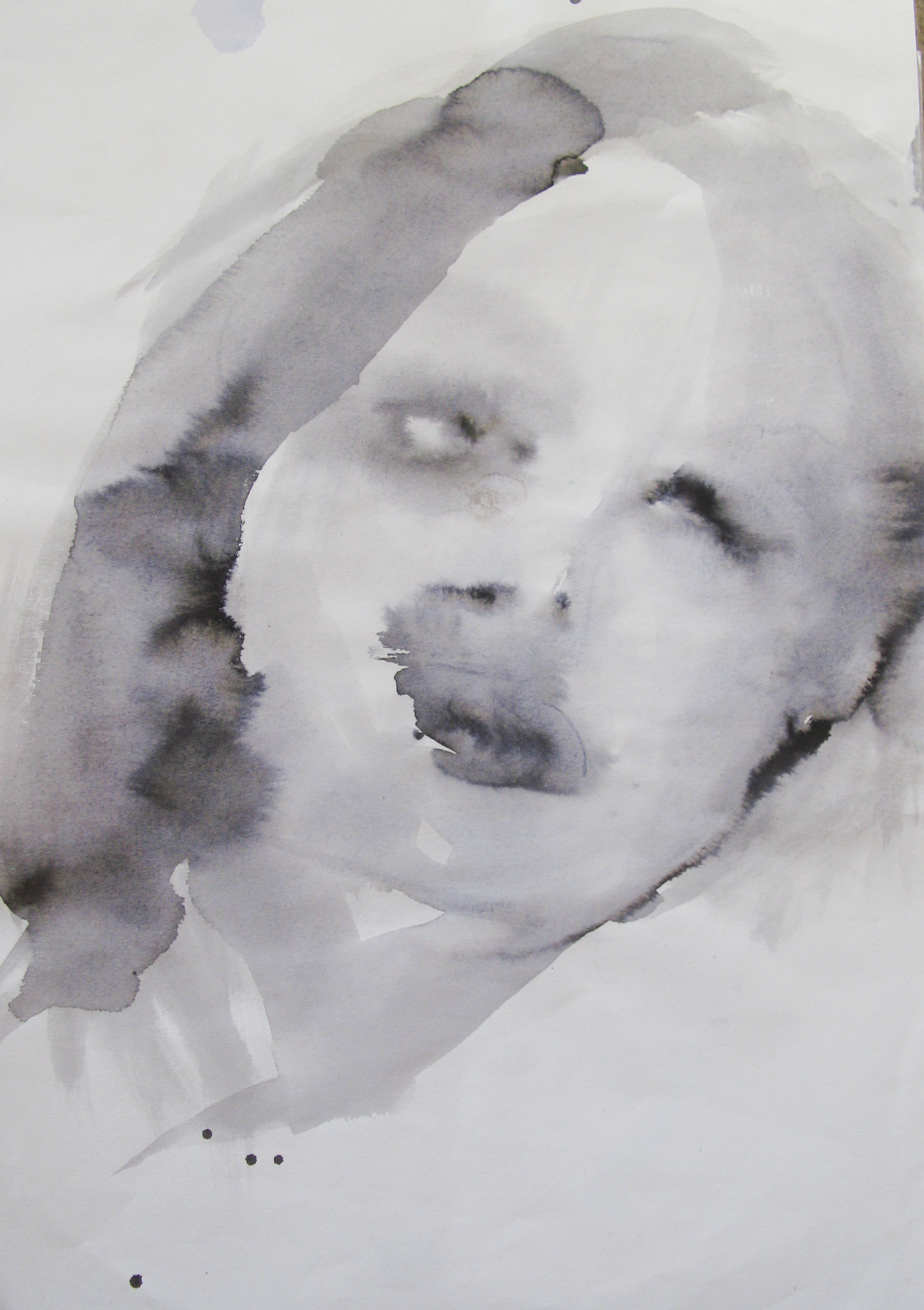 Eli, 42x29.7cm  watercolour, ink on paper  2019