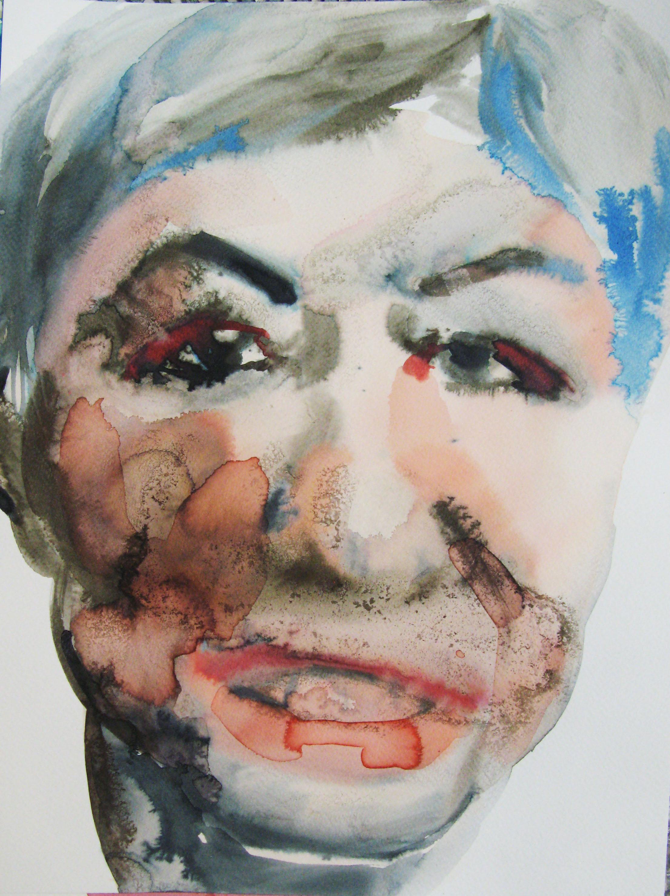 Ruta, 42x29.7cm  watercolour, ink on paper  2019