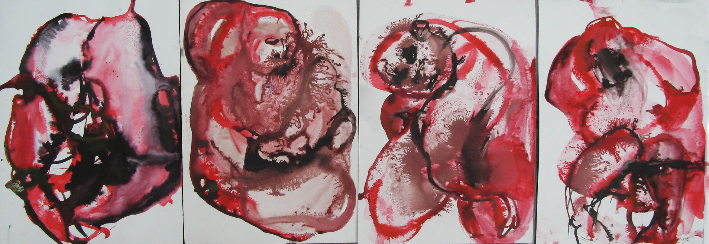 REd 2, 119x42cm,ink on paper.jpg