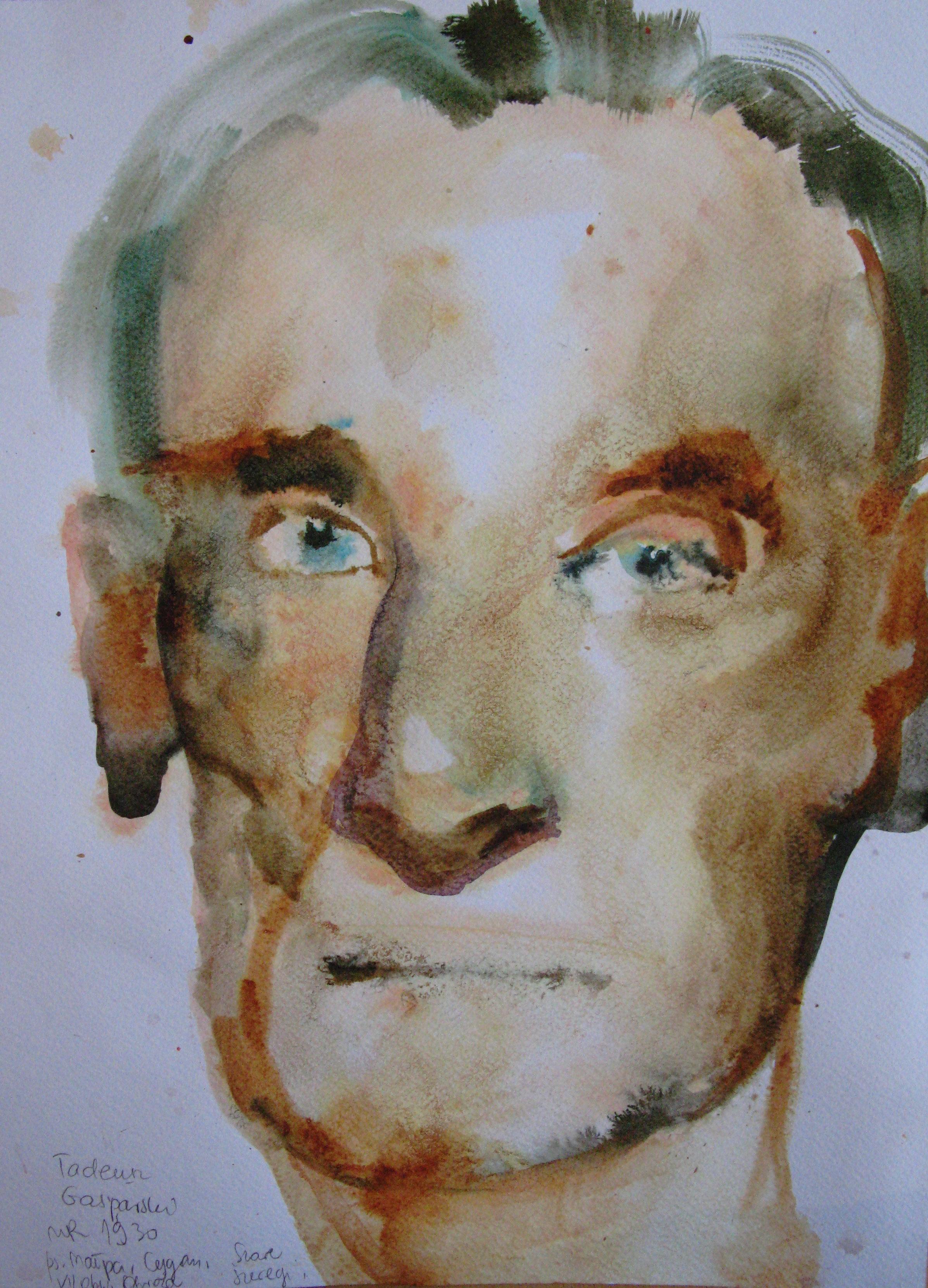Portrait, Henry, 42x29.7cm  watercolour, ink on paper  2019