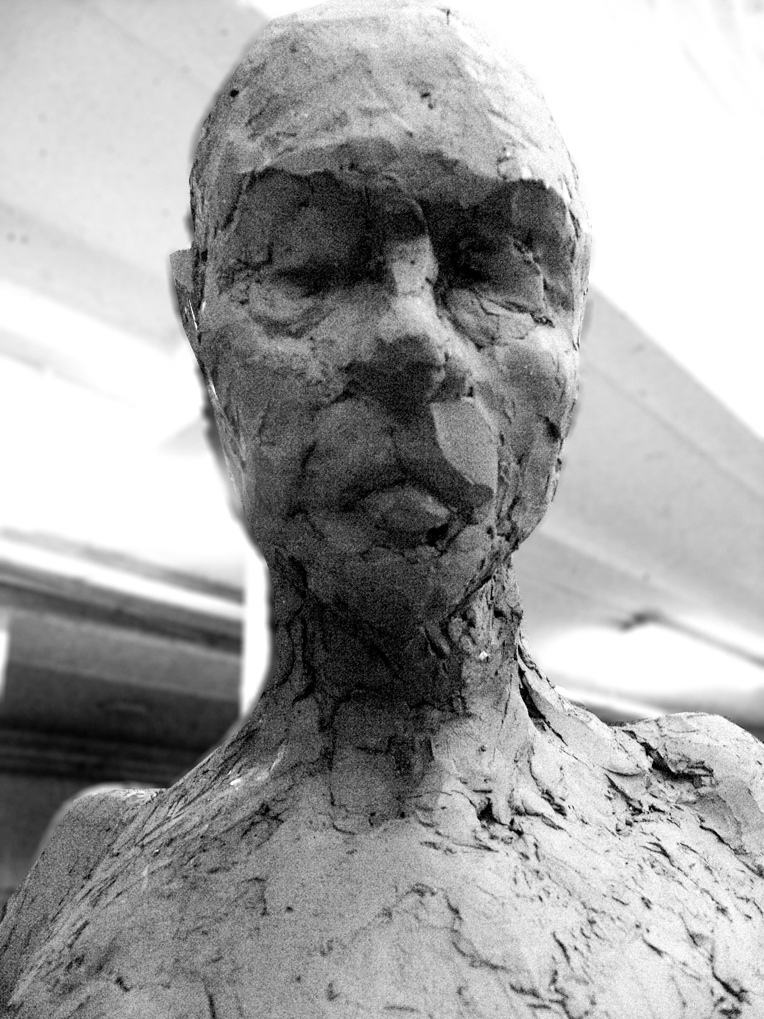 Thinking Mode,potrait , sculpture .jpg
