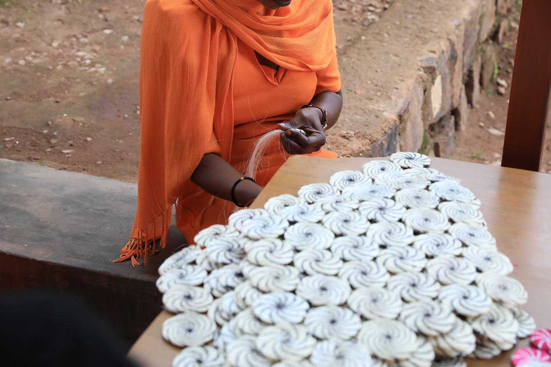 Activités artisanales dans la Prison de Ngoma