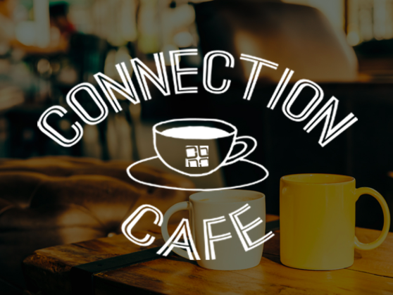 Connection Cafe` - STOP INTO THE CONNECTION CAFE`, BETWEEN SERVICES SUNDAY MORNINGS, 10:30A-11A.GRAB A CUP OF COFFEE AND LIGHT SNACK.GET TO KNOW OUR CHURCH FAMILY.
