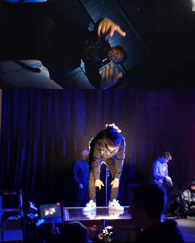 3 Split Screen Behind the scene looks at the video Blessed  @iamsu 🎥 Drop a comment and let me know which one is your favorite and why (1-3) 🤔