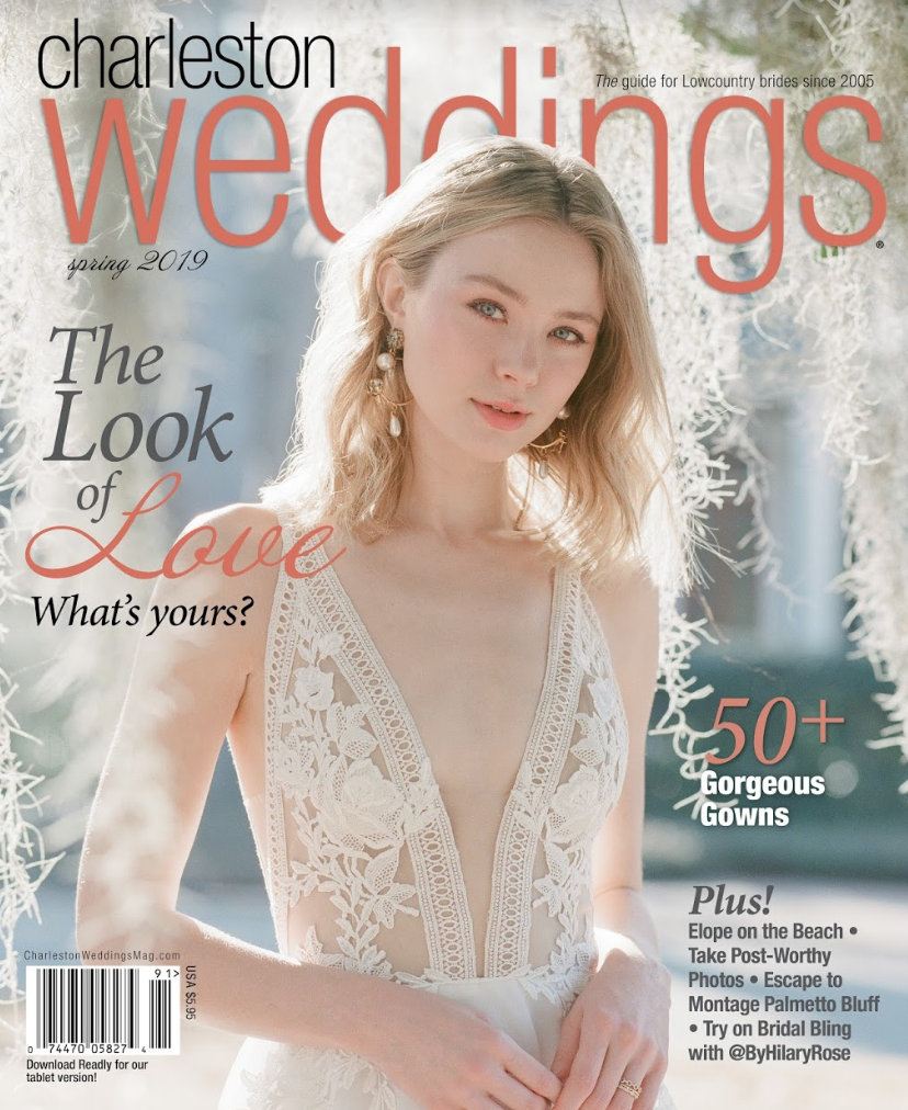 Charleston Weddings   spring 2019
