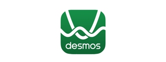 Desmos provides beautiful, easy to use and fully accessible interactive math tools, including a graphing calculator and geometry tool set. Within Edwin, these Desmos tools are integrated in context so that students and teachers can interact with examples and questions to enhance their understanding.