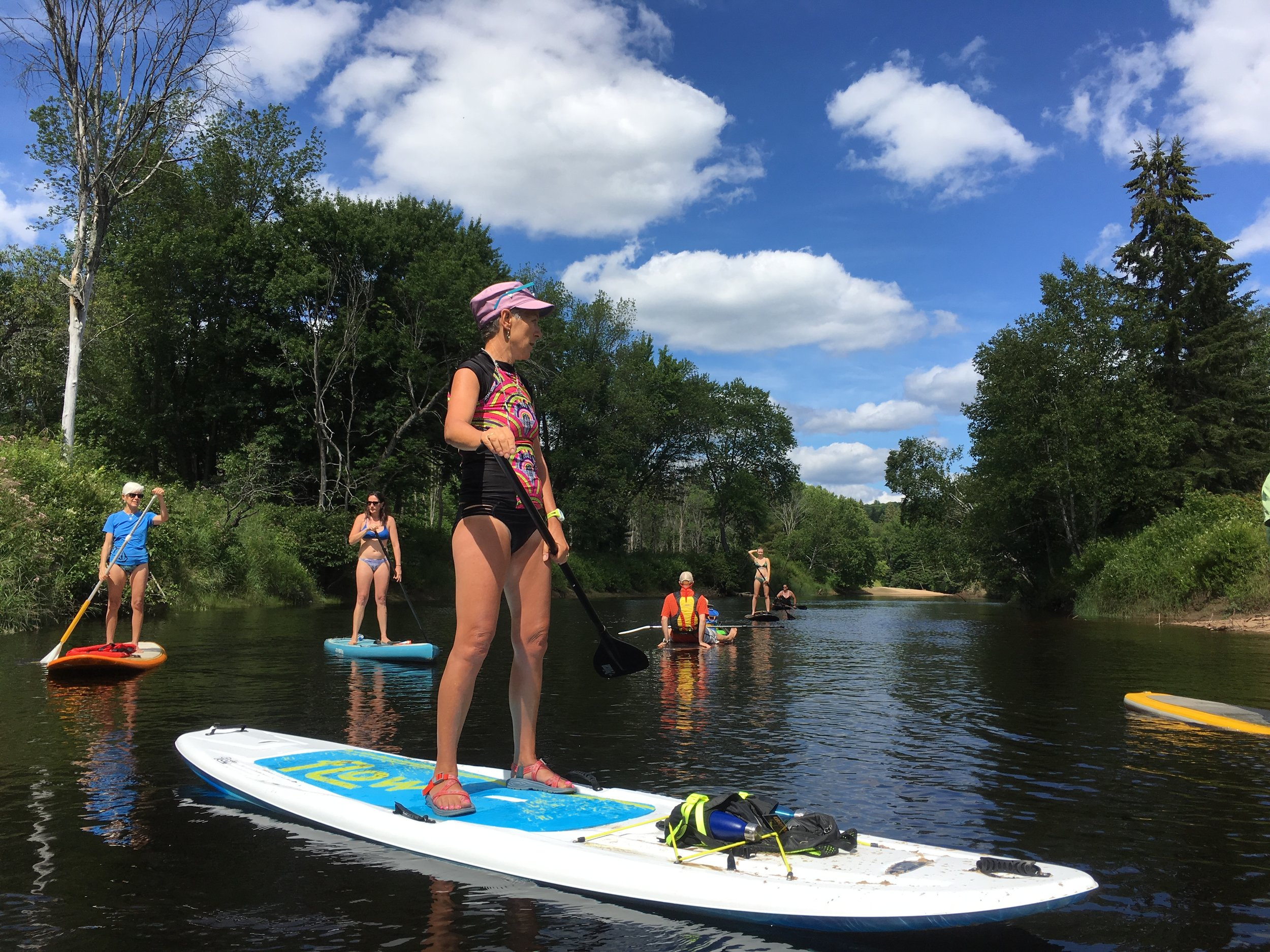 Big Easy Paddleboard floats - Being Wild, Made Easy.Guided family floats orFull Day River Adventures