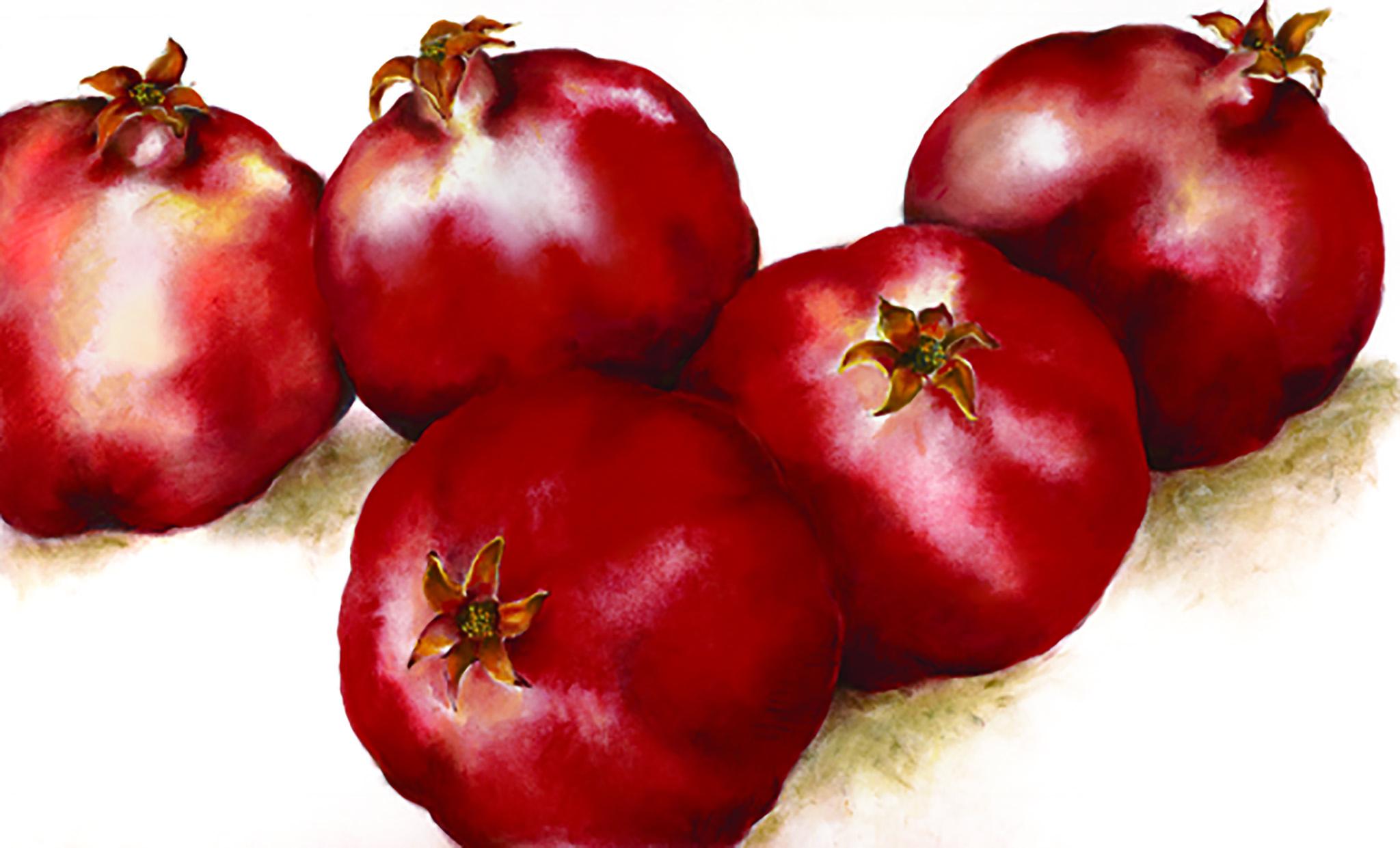 Five Pomegranates