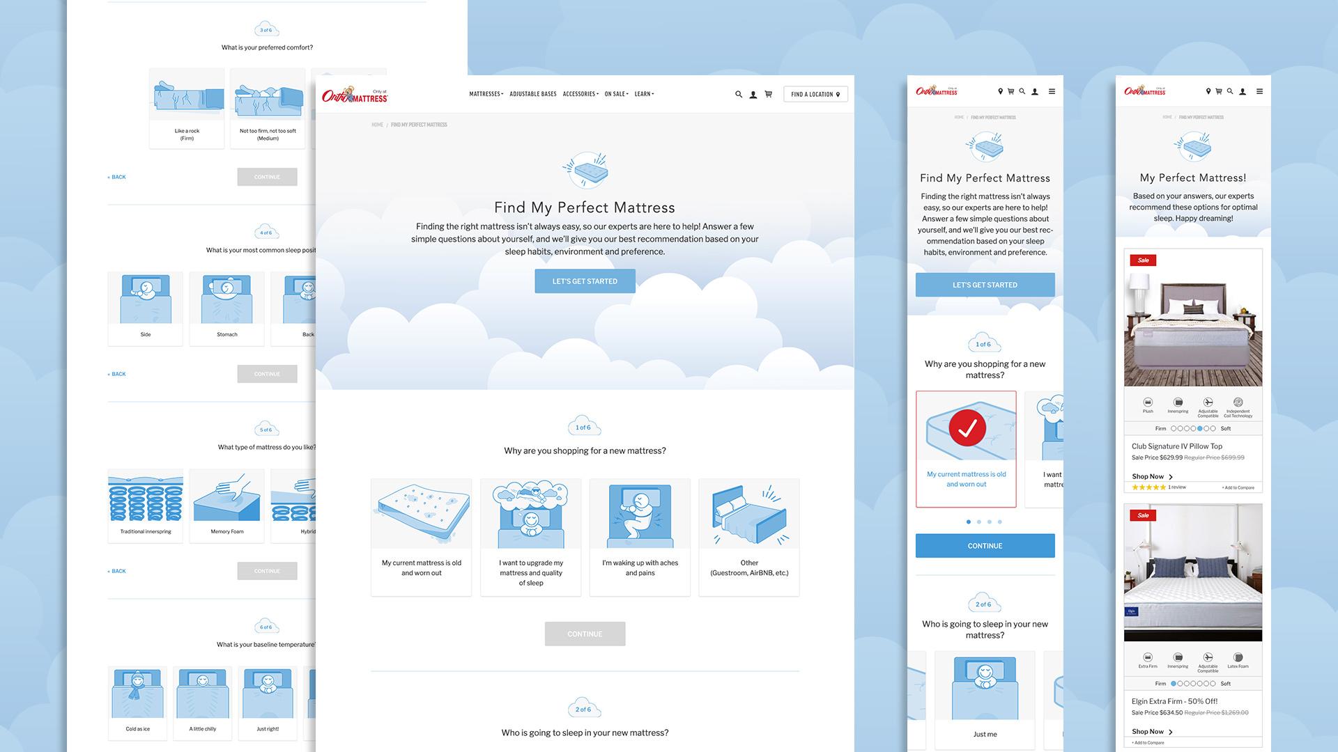 UX / UI / Visual Design / Illustration