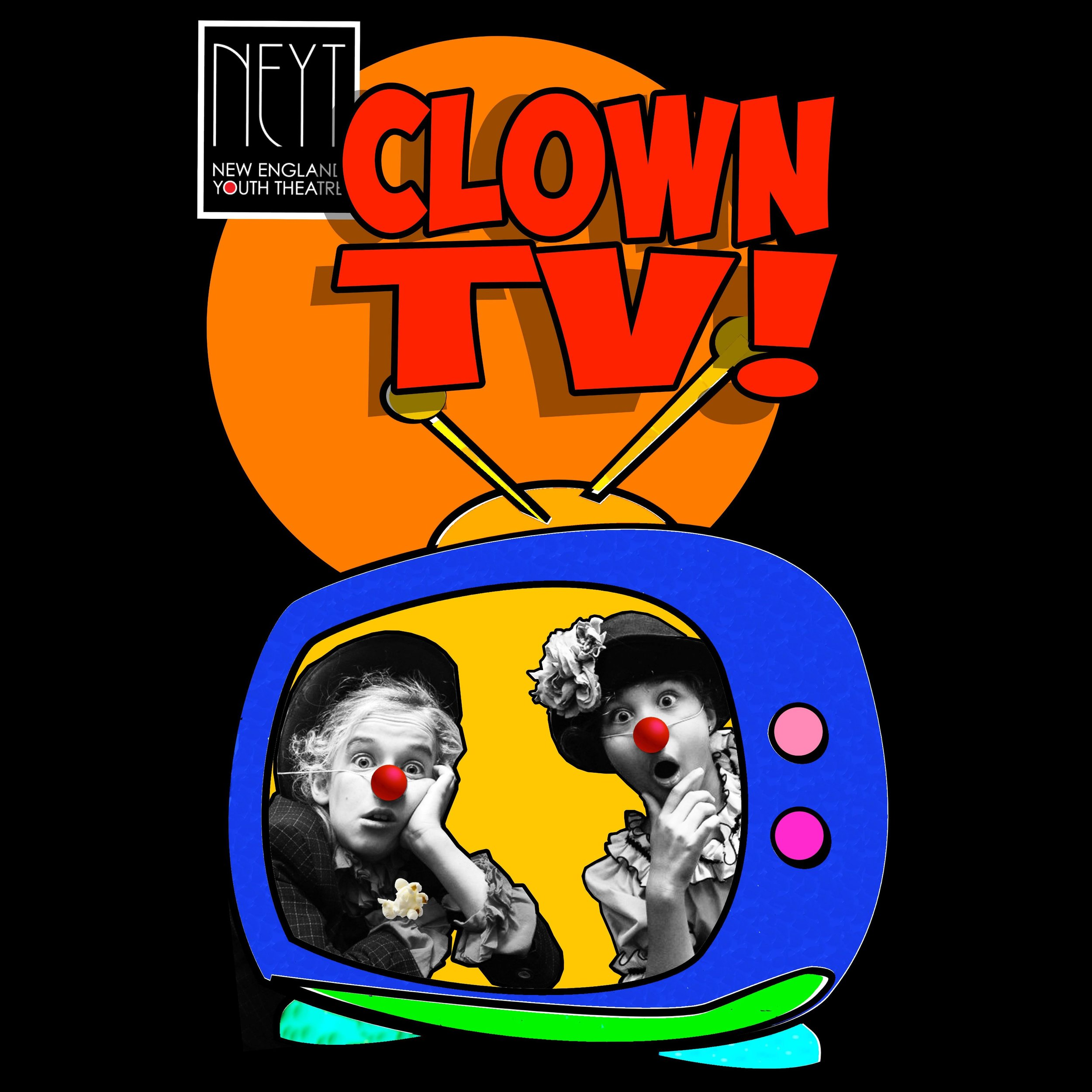 Clown TV! - Written & Directed by Doran HammThe clowns are back! Kick back with your popcorn and browse your favorite channels of our new and improved clown television.PERFORMANCES: November 1 - 9, 2019Sponsored by Foard Panel