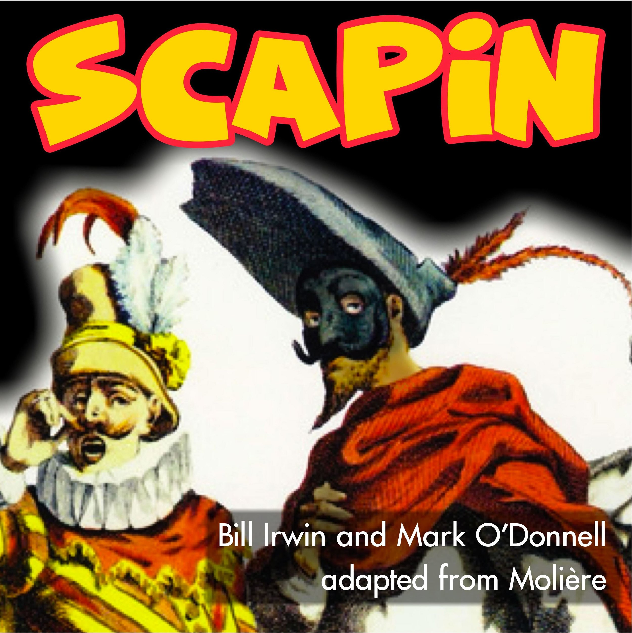 Alumni Anniversary Production - SCAPINby Bill Irwin and Mark O'Donnell, adapted from MolièreDirected by Stephen Stearns with Taylor PatnoSecret love, chaos, and gut-busting comedy ensue in this wild story for all ages!Performances: Friday, June 14the 7pm + Saturday, June 15th 1pm & 7pm + Sunday, June 16th 2pmTickets: $10Sponsored by Southern Vermont Arts & Living and The Brattleboro Reformer.
