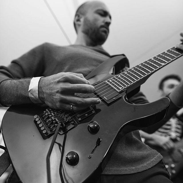 Gera showing off his guitar skills #Driftglass #guitar #guitarist #prog #progrock #progressiverock #metal #progmetal #progressivemetal #live #music #toronto #canada