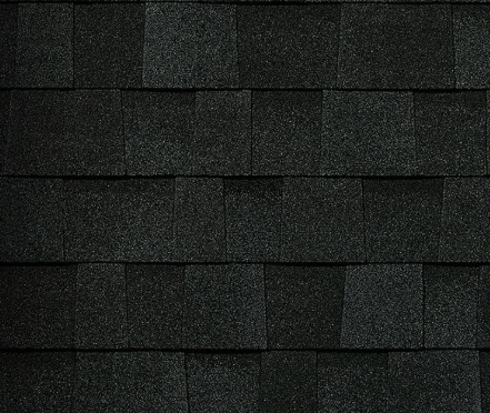 Duration STORM® Shingles   Onyx Black