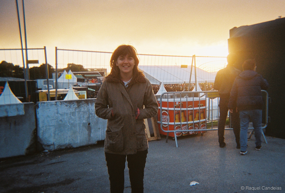 Courtney Barnett at the backstage. @Nos Primavera Sound