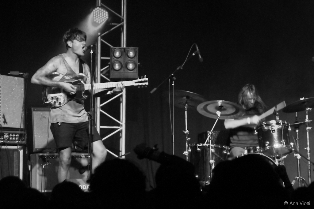 thee oh sees, side stage collective, paredes de coura