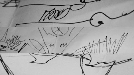 Detalhe da contribuição de Mood (Stefan, Timothy e Pepe) Detail of Mood's contribution (Stefan, Timothy and Pepe)