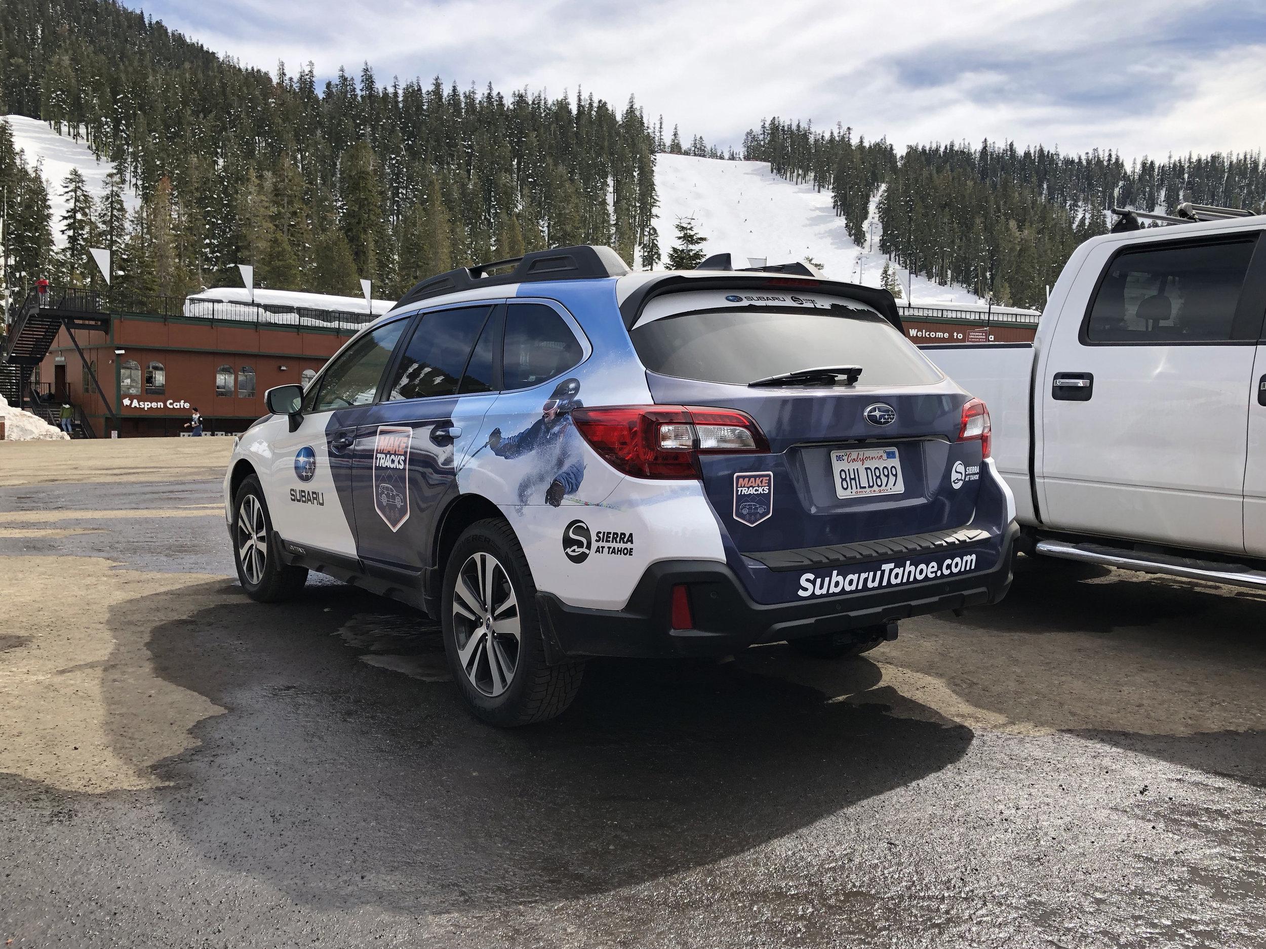 Sierra at Tahoe Subaru Wrap