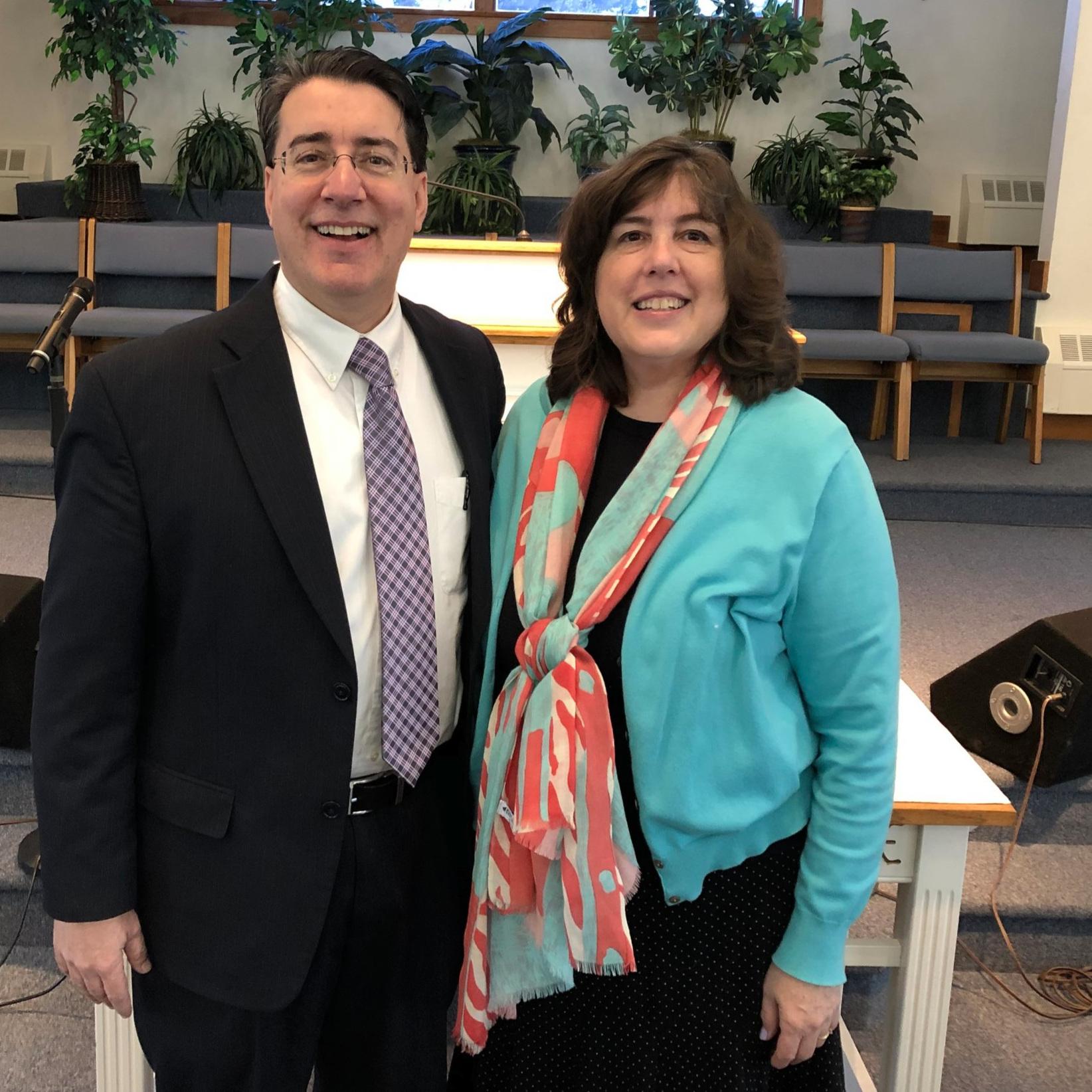 Pastor David and Amy English