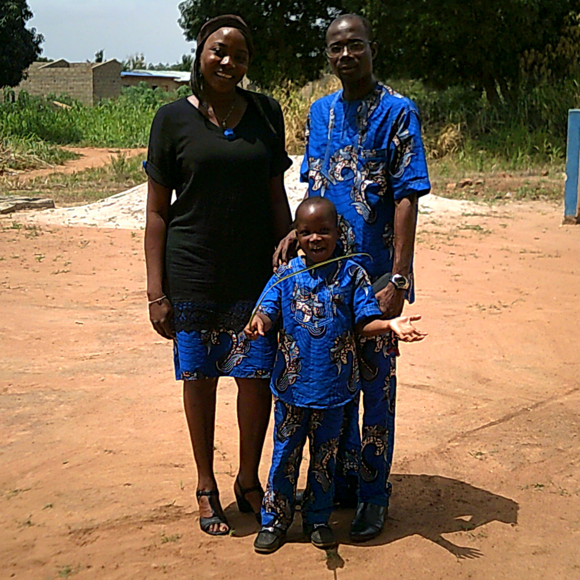 Mawuli and Stella TogbiWOnyo in Togo