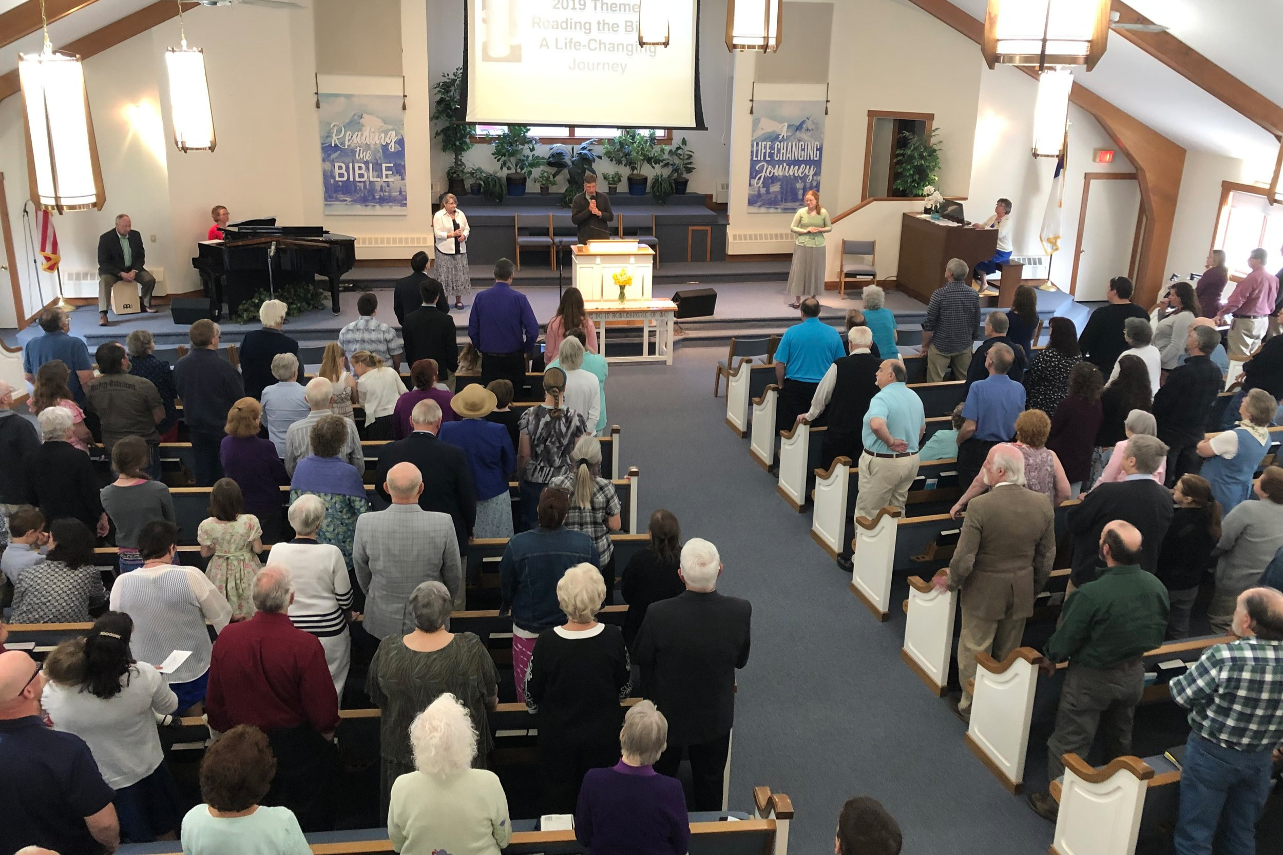 Sunday Services at West Rockport Baptist Church