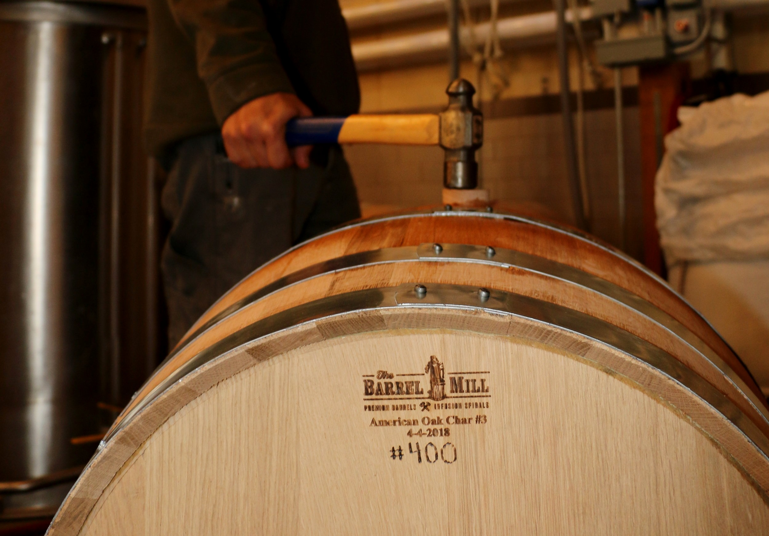 Saint Lawrence Spirits 400th Barrel being closed for the next two years.