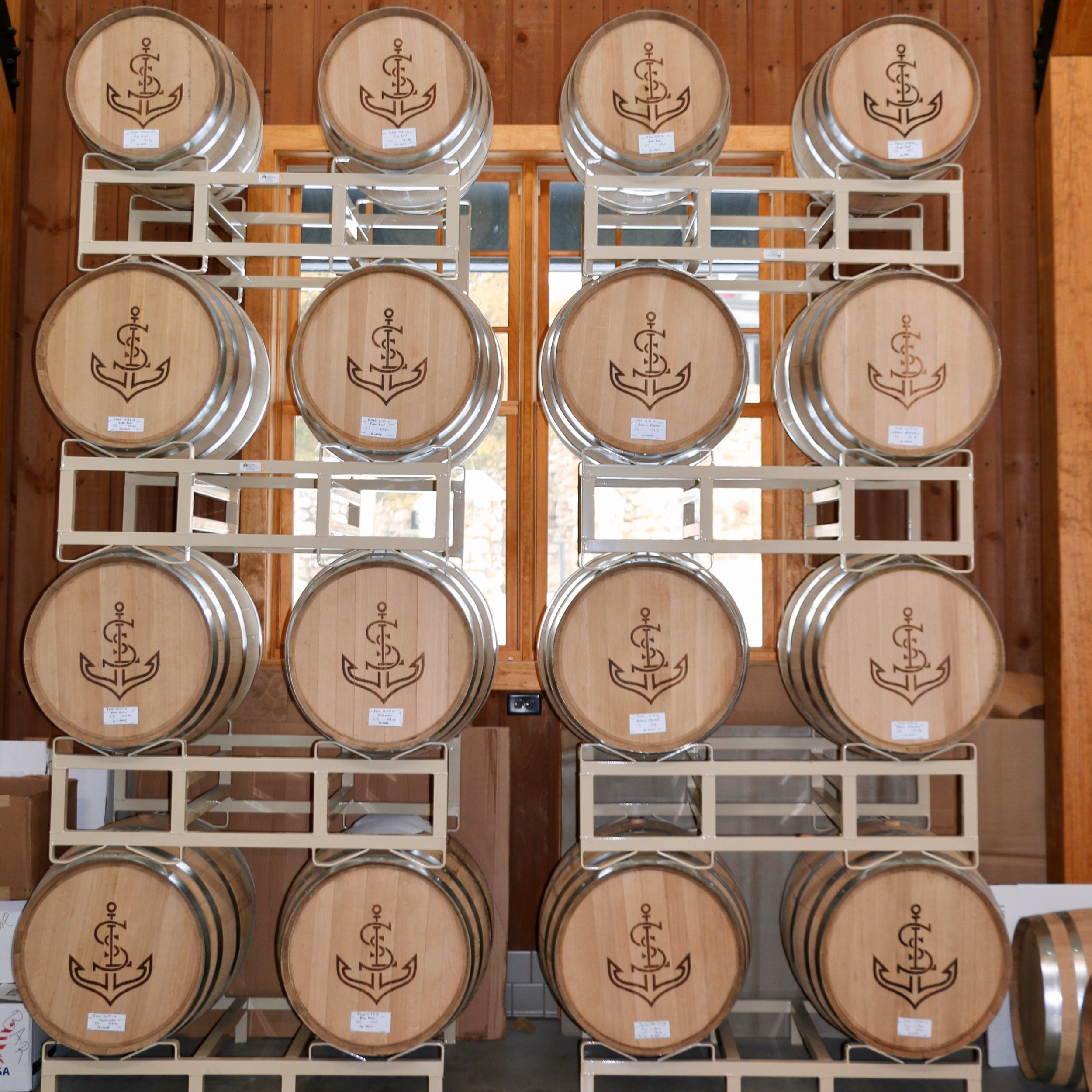Saint Lawrence Spirits Barrels develop