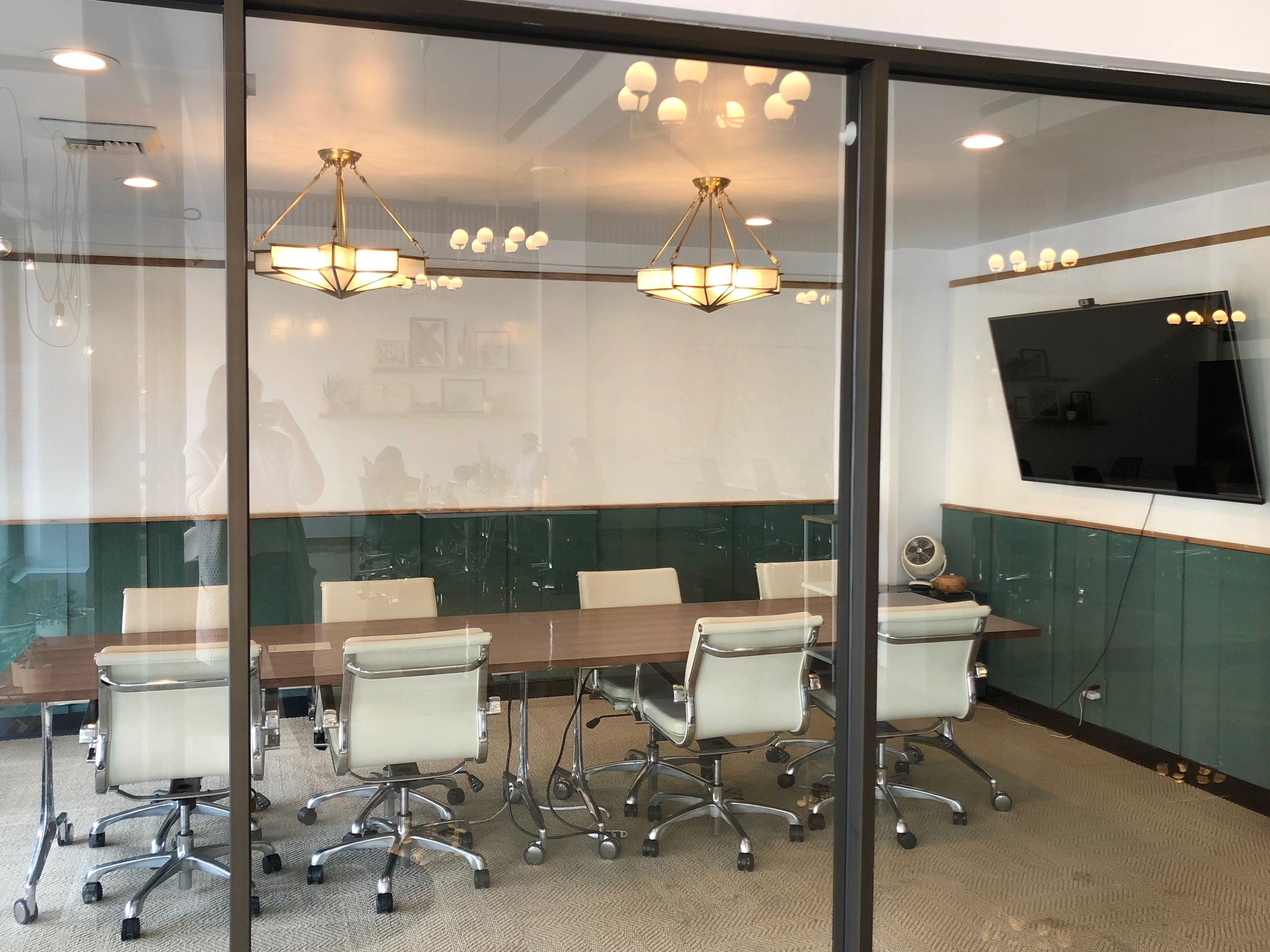 FULLERTON LARGE MEETING ROOM $80/HR - Seats up to 8 people65