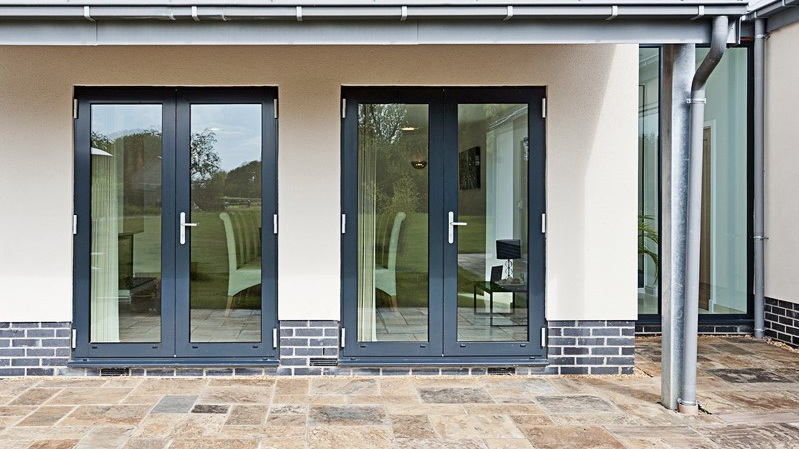 ALUMINIUM FRENCH & SINGLE DOORS