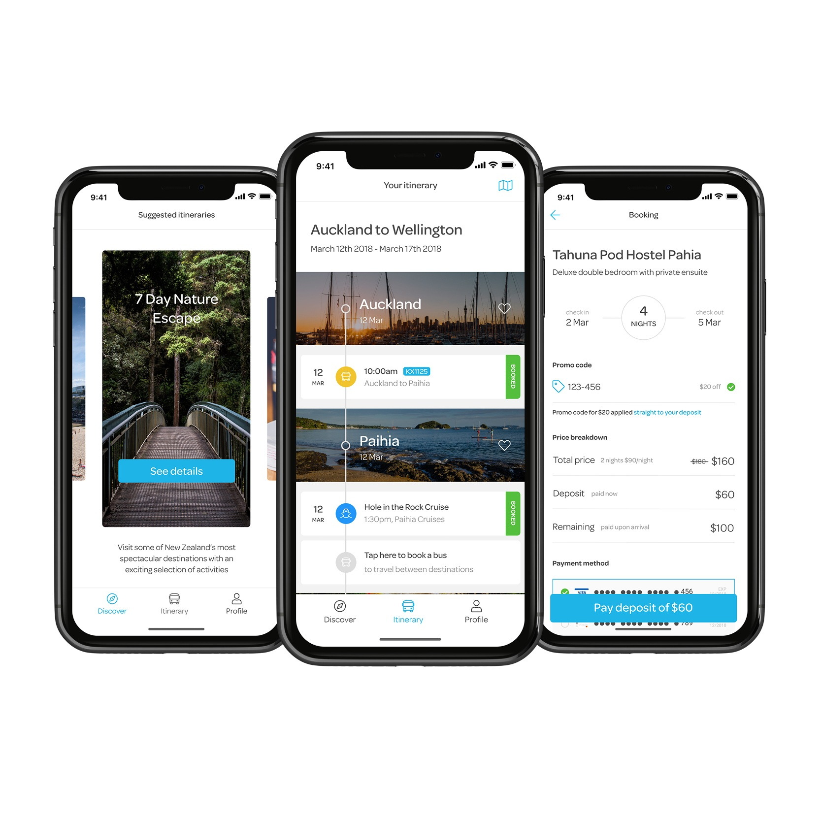 The App - A white label interface that can be customised to your own brand. One app for customers to review options, make bookings and pay seamlessly. The app is tailored to suit a business's requirements for presenting ancillary services to travellers all connected to an original booking. Increase the customer experience and understand what they do rather than what they say.