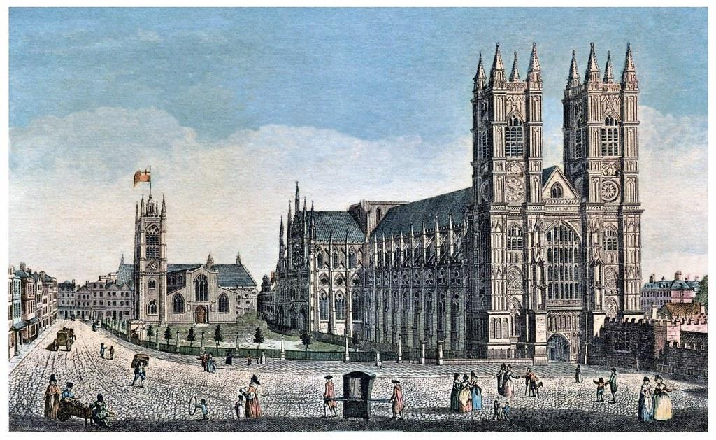 Londres  Abbaye de Westminster & St.Margaret's Church