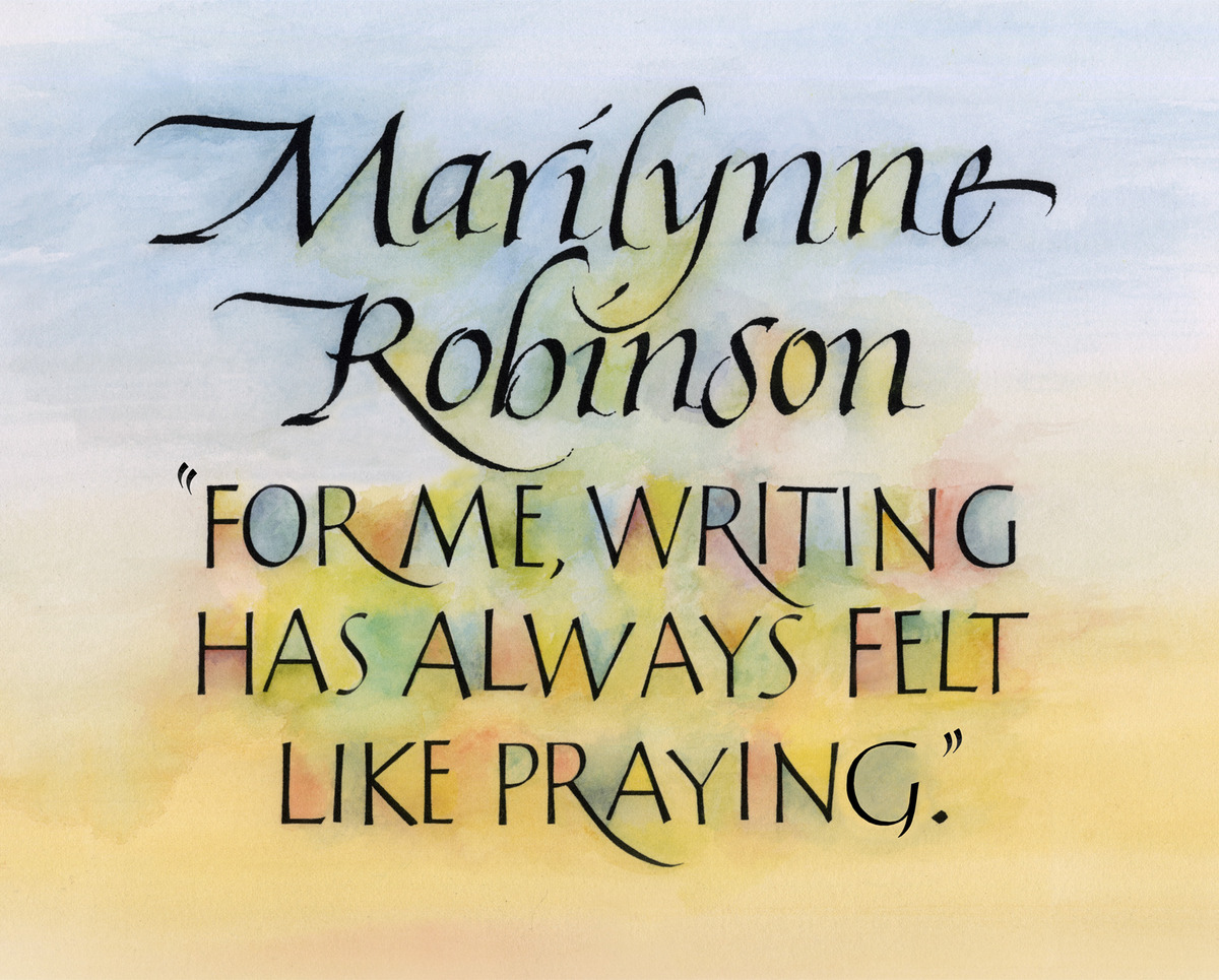 Writing like Praying