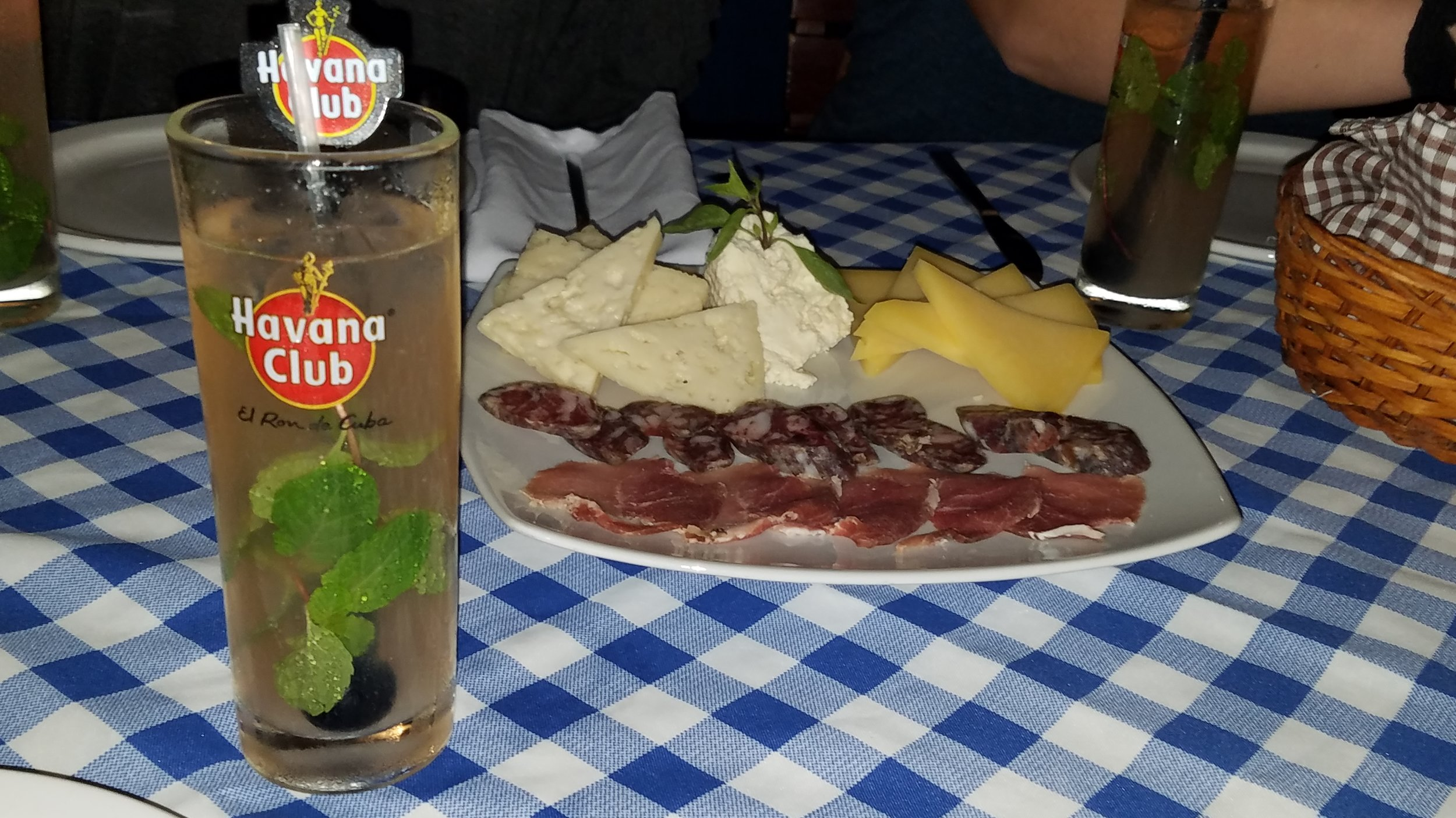 Dinner at El Mediterreano