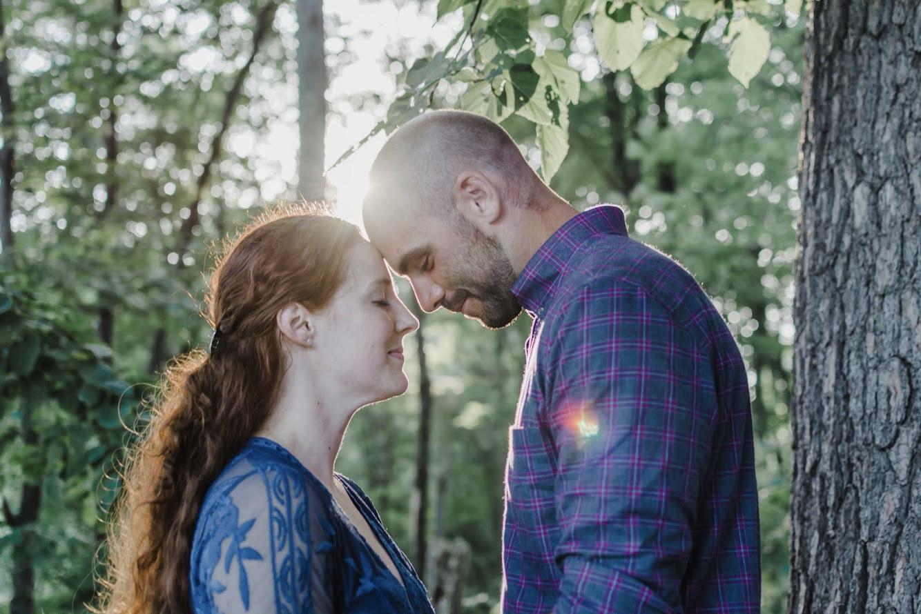 Sarah & Mike - Mine Falls Engagement