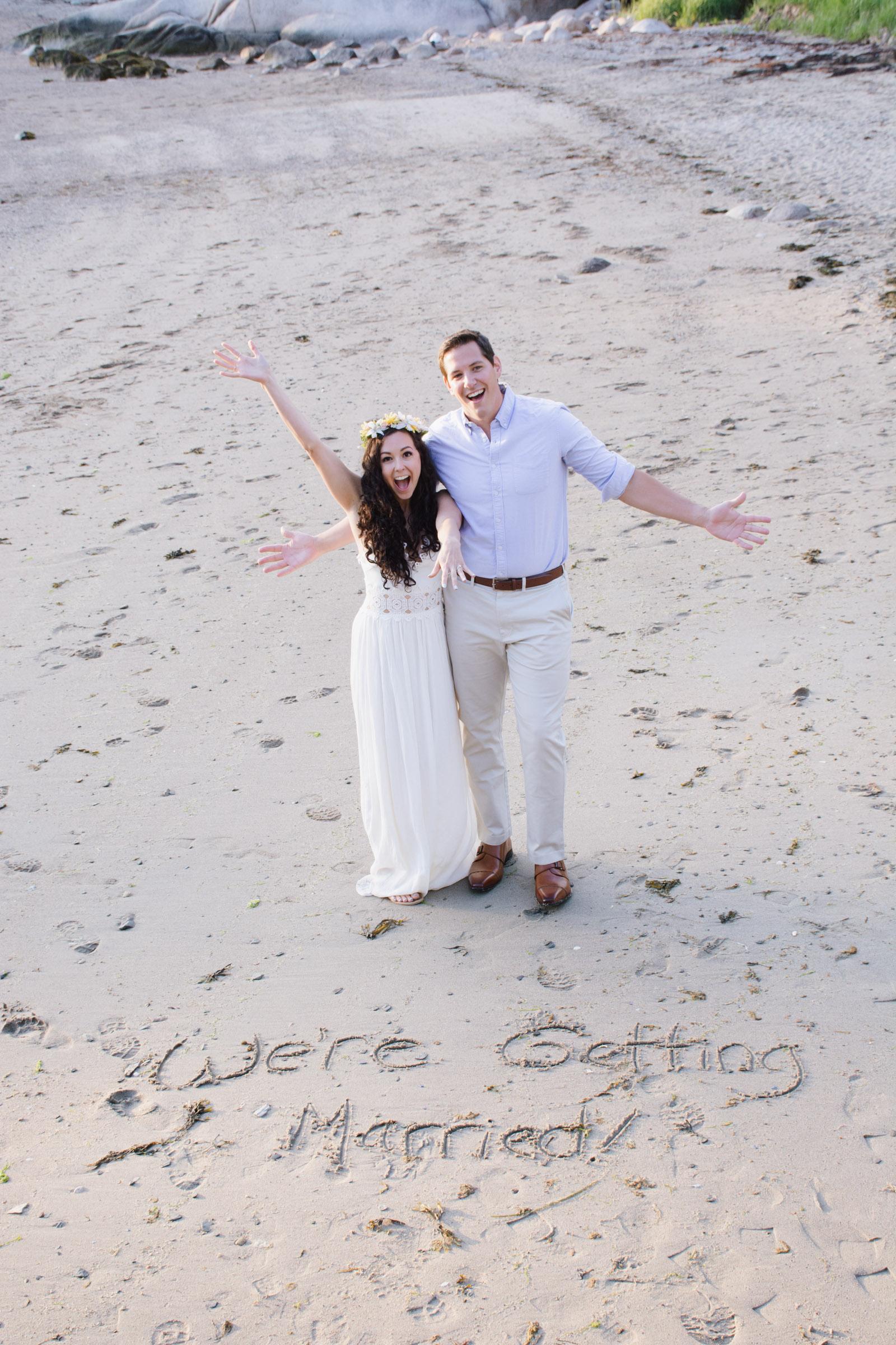 Kayleigh & Dan - Maine Coast Proposal