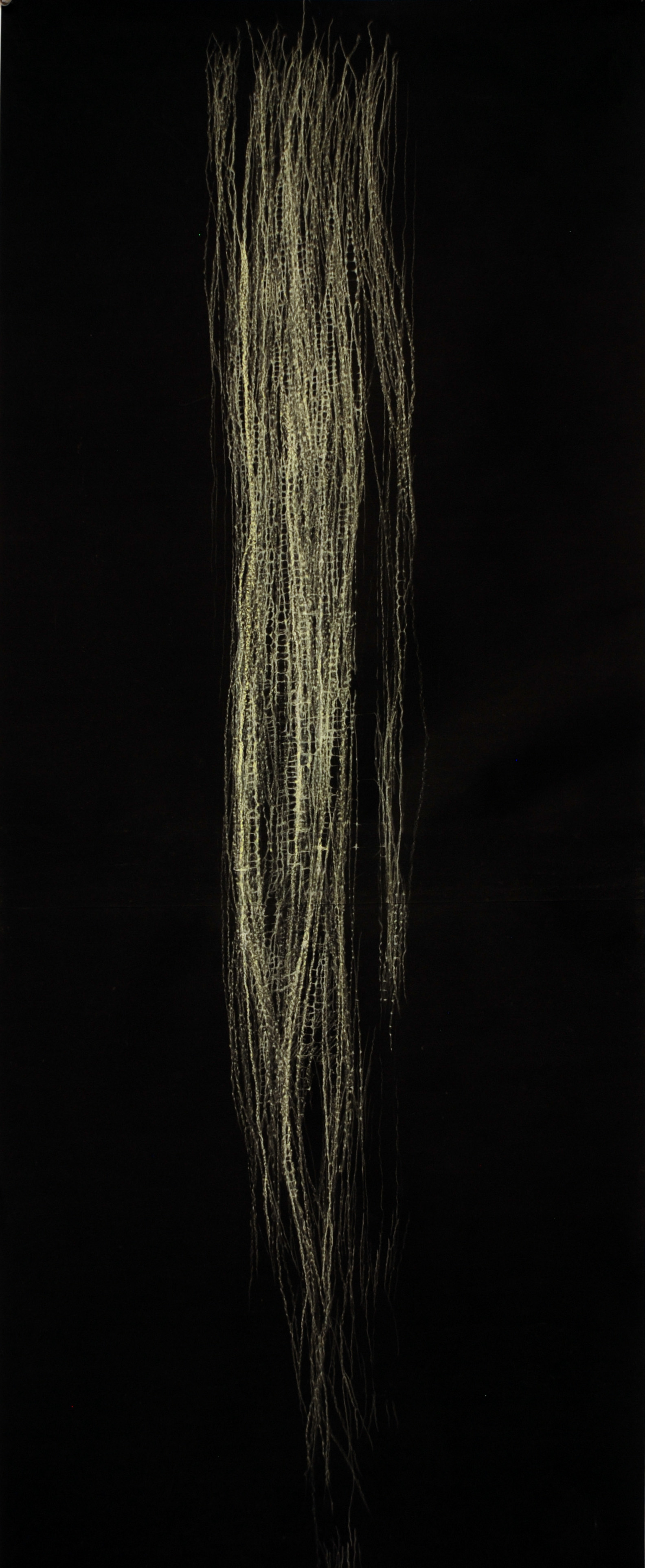 Lightfall,  2' x 6' Pencil on paper, 2012