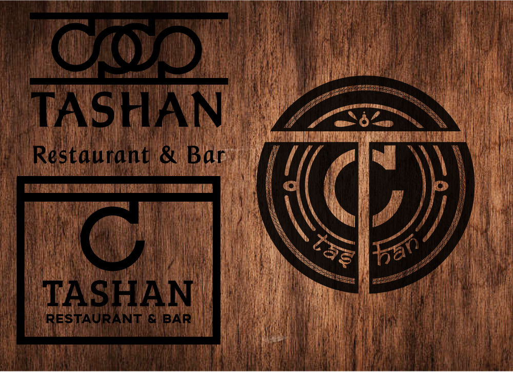 Tashan Brand Development - We developed a second standalone brand for a separate project. Here are some of the variations.