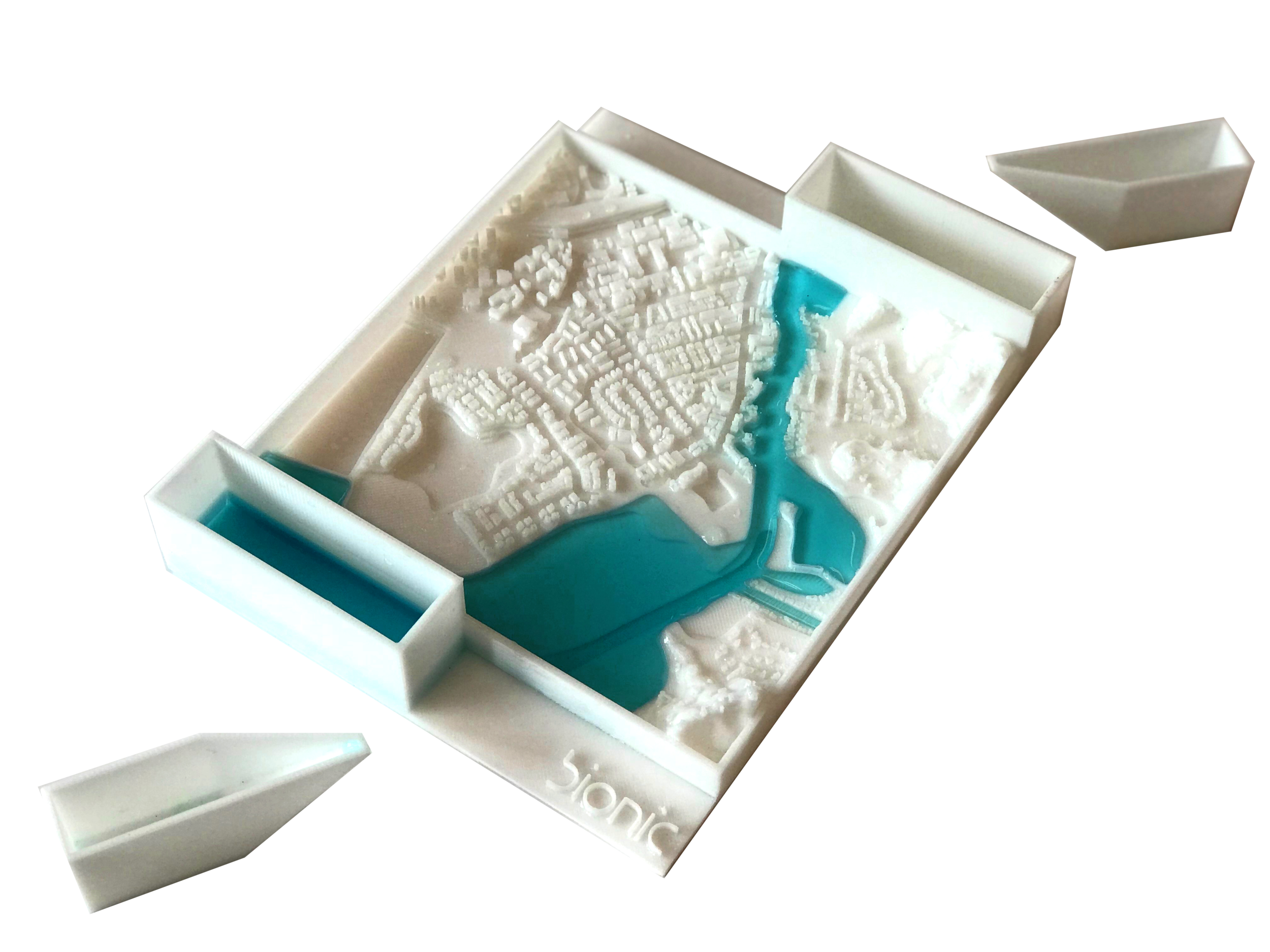 """flood kit"" - a 3d-printed educational model"