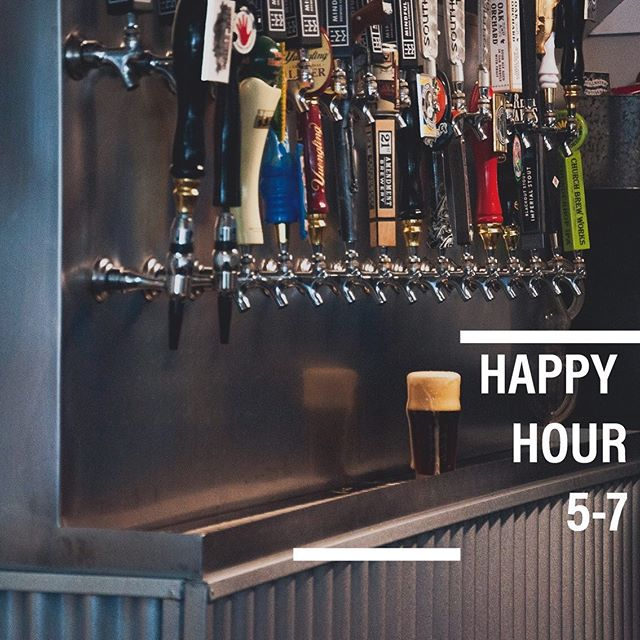 Join us for half priced craft drafts during Happy Hour, Monday through Friday from 5-7! While you're here try one of our delicious new menu items!