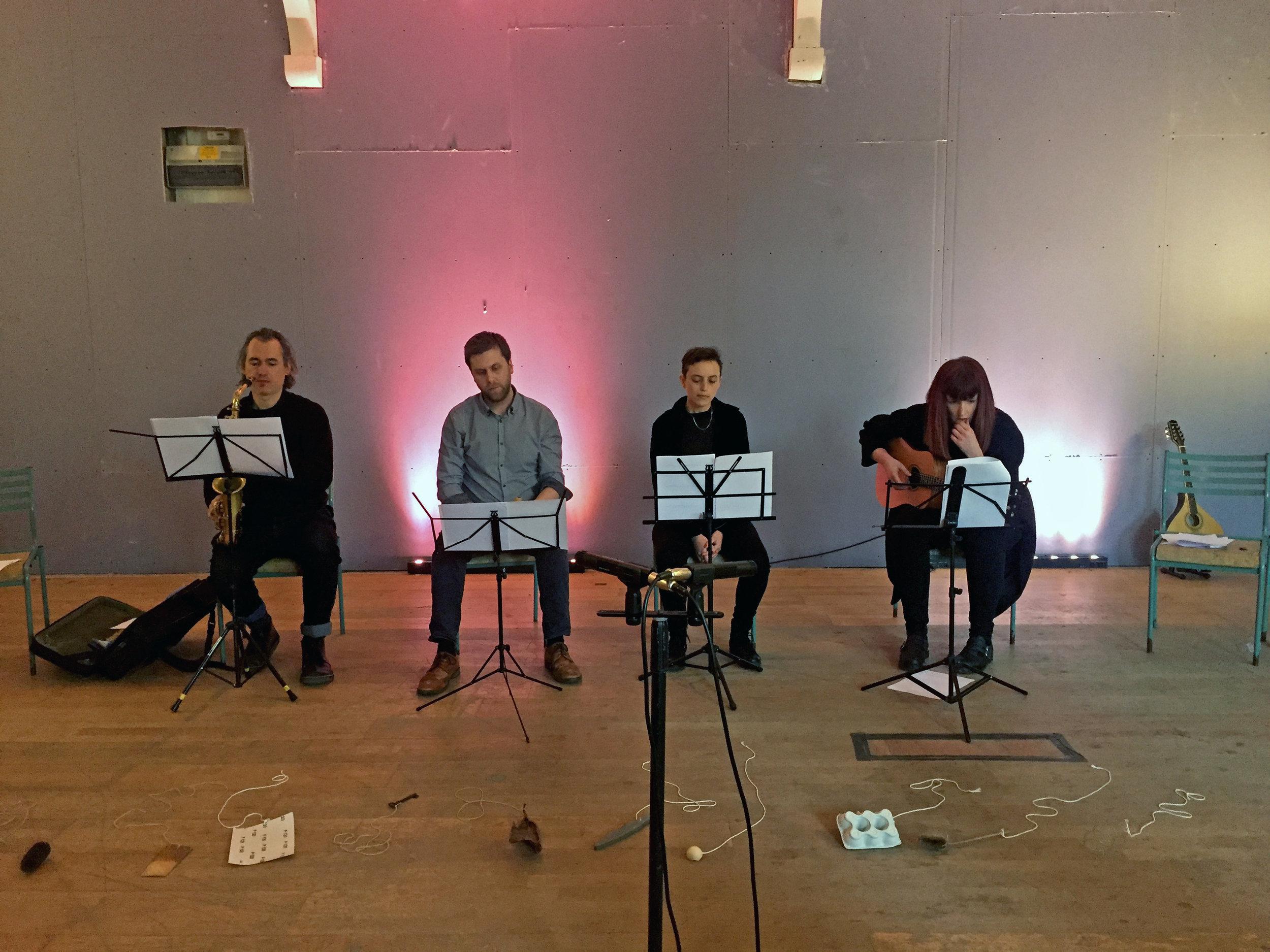 Performers at Eklectik, London