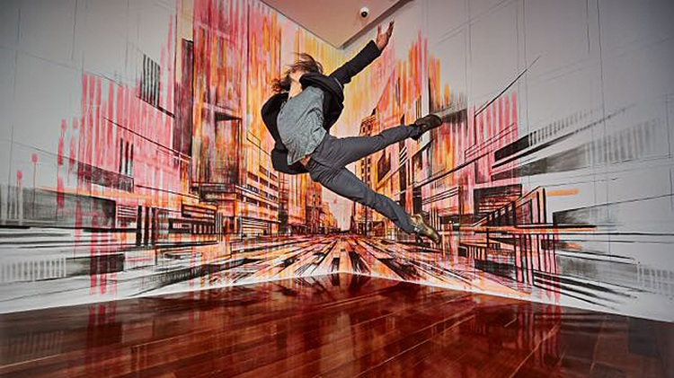 Photography by Chris Herzfeld.  do it [Adelaide]  Exhibition at Samstag Museum of Arts, Adelaide, 2015.